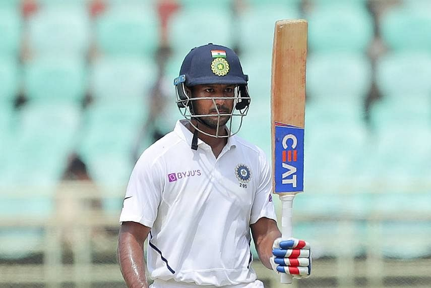 Opener Mayank Agarwal ruled out of first Test against England