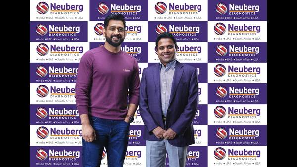 Neuberg Diagnostics ropes in MS Dhoni as brand ambassador