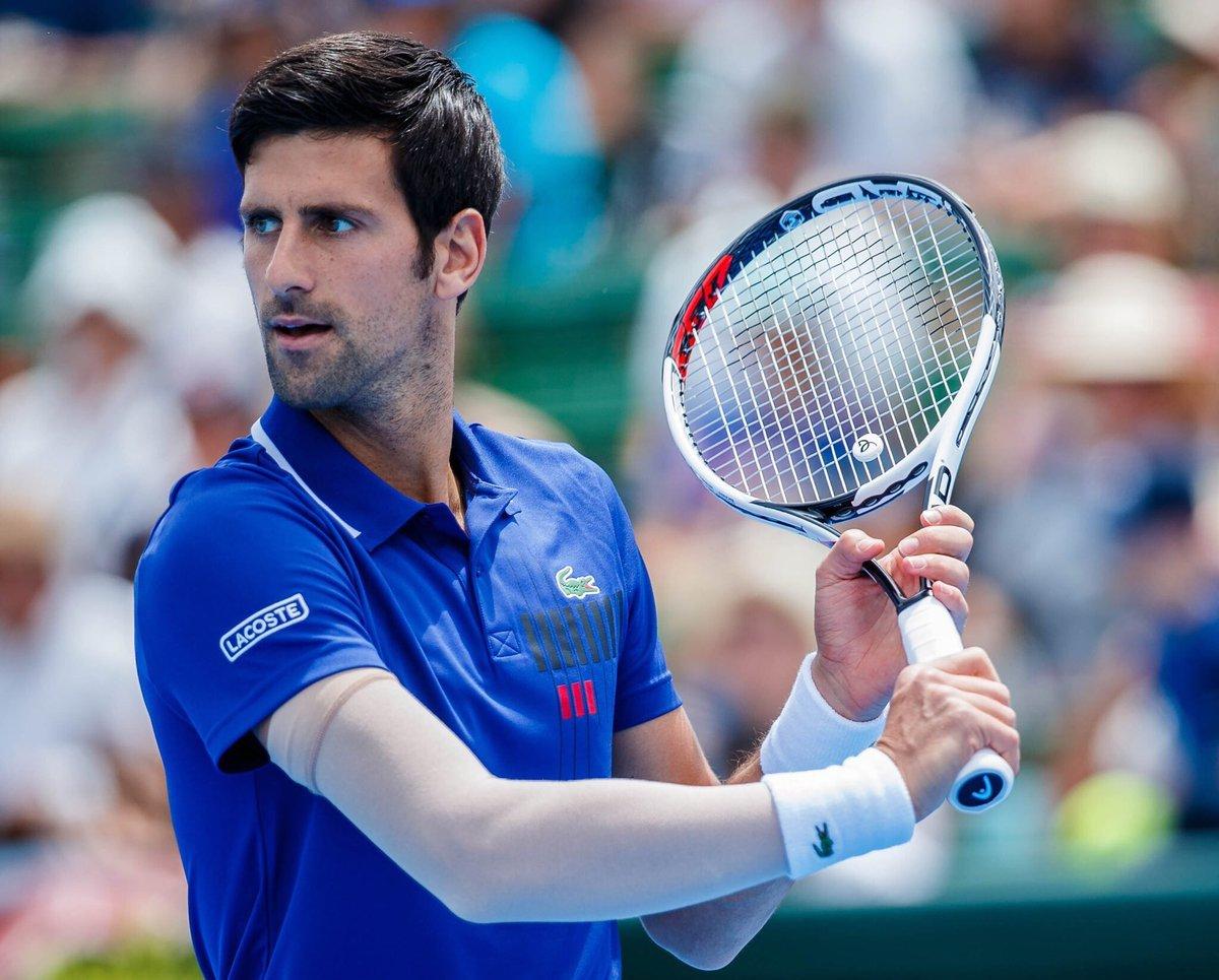 Novak Djokovic renews contract with Lacoste