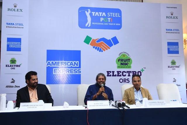 TATA Steel PGTI onboards American Express, Amrutanjan Health Care Limited as tour partners