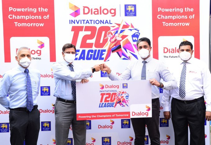 Dialog Axiata named as sponsor of SLC Invitational T20 League