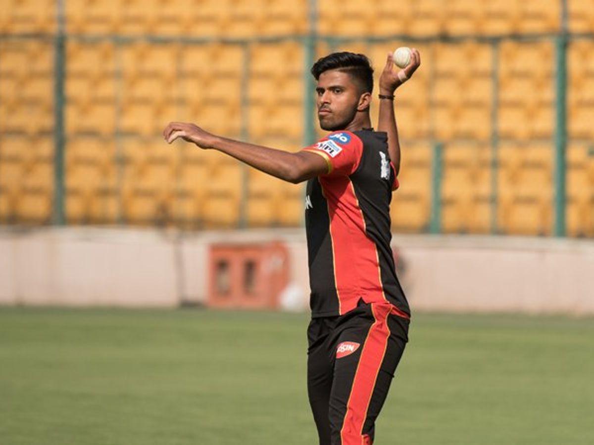 IPL 2021: Akash Deep to replace injured Washington Sundar in RCB squad