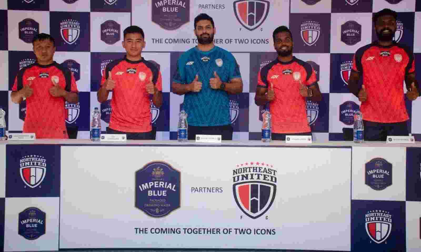 Seagram's Imperial Blue partners with Northeast United FC ahead of ISL season
