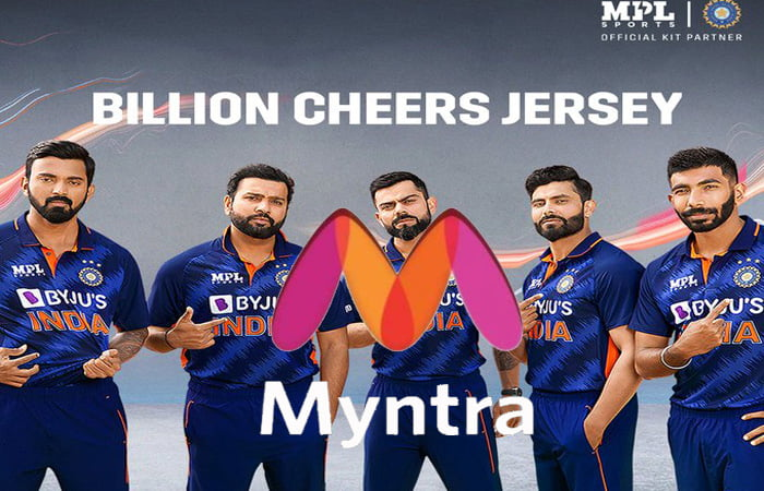Myntra to host MPL Sports' official Team India merchandise