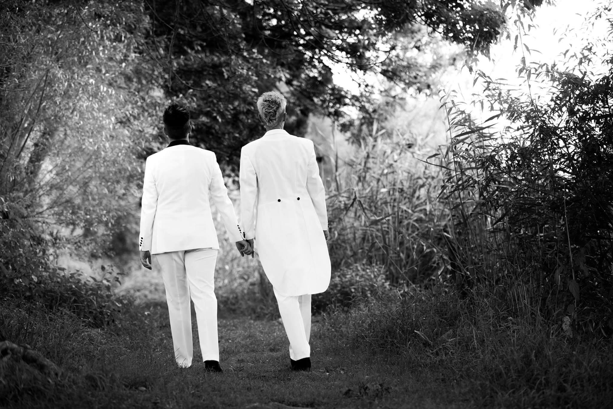Homo Ehe Hochzeitsmode fr gleichgeschlechtliche Paare