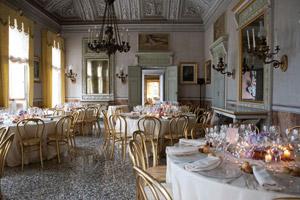Brautpaar im Schweiz im Tessin Lugano in Italien Das