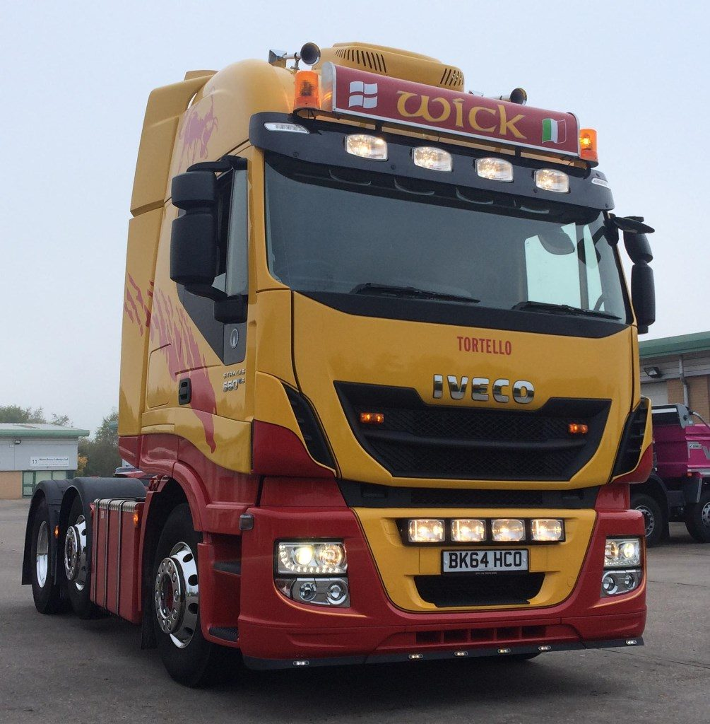 Iveco Spot On Truck Bars