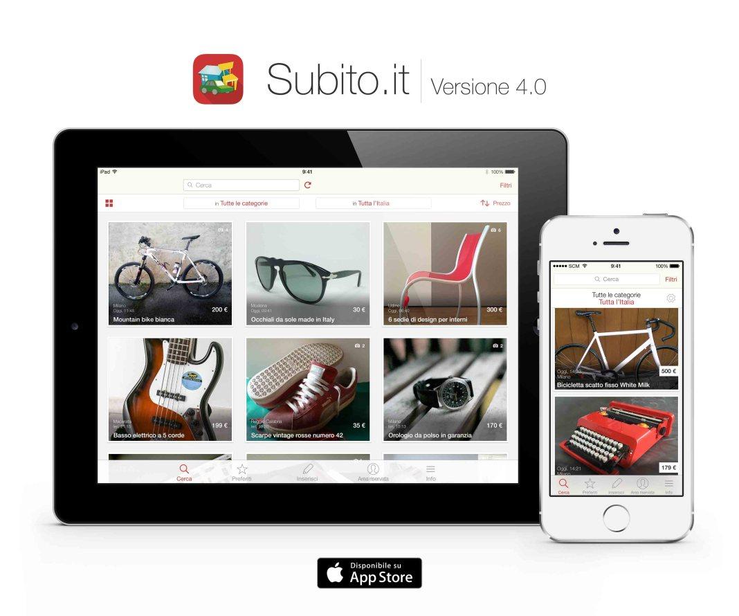 App Subito.it_iPad e iPhone