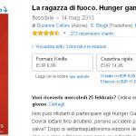 Amazon.it La ragazza di fuoco. Hunger games Copertine assortite Suzanne Collins S. Brogli F. Paracchini Libri