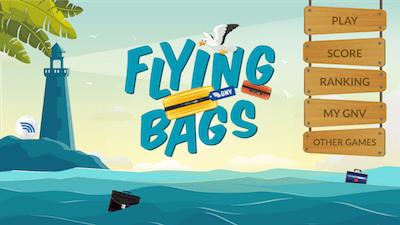 CS_GNV lancia il nuovo gioco Flying bag