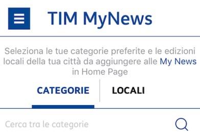 APP TIM MyNews