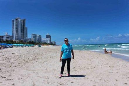Il lungomare di Miami Beach. Foto Grigore Scutari
