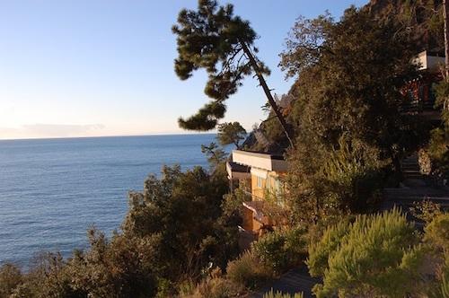 Veduta dal resort La Francesca