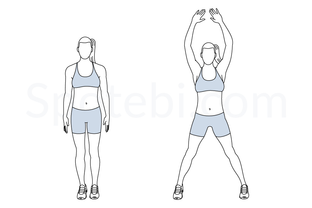 Benefits Of Exercise: Benefits Of Jumping Jacks Exercise