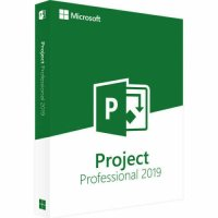 MICROSOFT PROJECT 2019 PROFESSIONAL for WINDOWS 1PC Lifetime Key