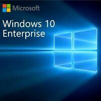 Windows 10 Enterprise key 32 & 64 Bit Fast Delivery Activation Genuine Key