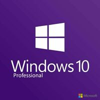 Windows 10 Professional Retail 32or 64bit License Key