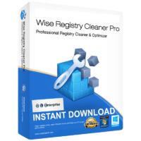 Wise Registry Cleaner 10 Pro X Full Version E-mail delivery Windows Repair