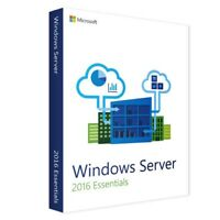 Microsoft Windows Server 2016 Essentials 64-bit Genuine License Key