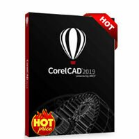 Corel Cad 2019 2D 3D Modelling Drafting Design for Windows Original