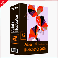 Adobe Illustrator CC 2020 l Full Version for Windows | Email Delivery