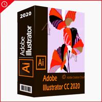 Adobe Illustrator CC 2020 l Full Version for Windows | Email Delivery