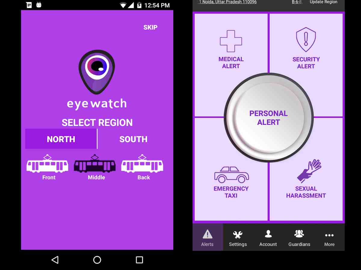 Eyewatch Railways, watching over women commuters