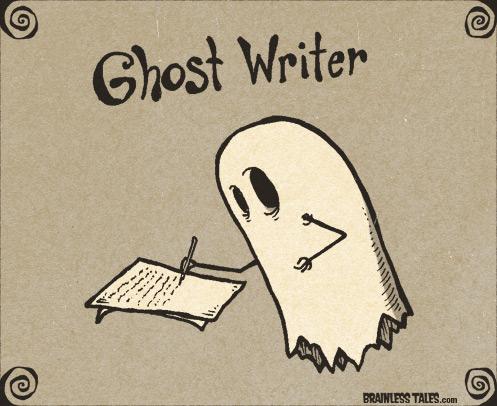 Image result for ghostwriter