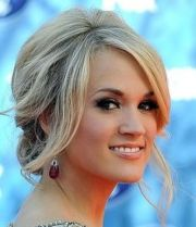 classic carrie underwood updos