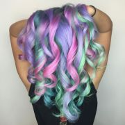 rad rainbow hair color ideas