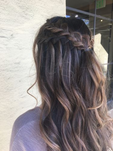 Image Result For Waterfall Id Black Hair