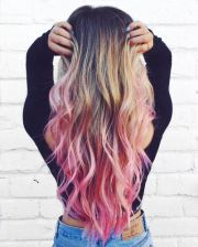 pink ombre hair color ideas