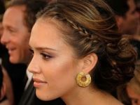 23 Jessica Alba Hair (Long, Updo, Braids, Ponytails, Hair