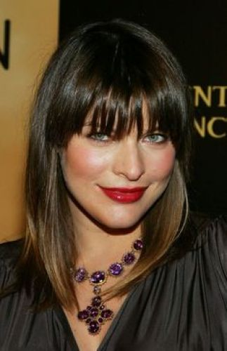 10 Full Fringe Medium Length Hair Gorgeous Cuts With Bangs
