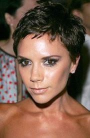 brown pixie hairstyles short