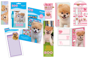 Boo-stationery