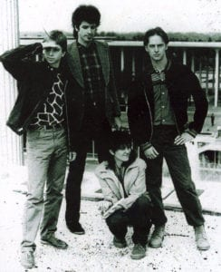 Fear of Strangers, as they appeared during in the midst of the Capital District music scene in the early '80s. — Photo courtesy of Fear of Strangers.