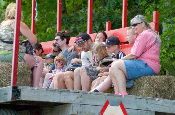 SummerFest hayrides at Indian Ladder