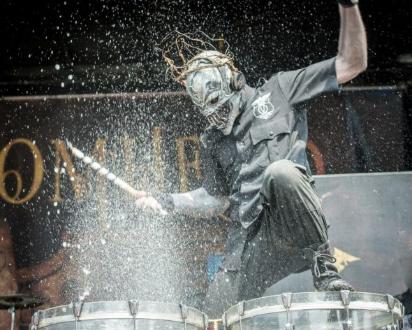 Mushroomhead at Saratoga Performing Arts Center — Photo by Jim Gilbert