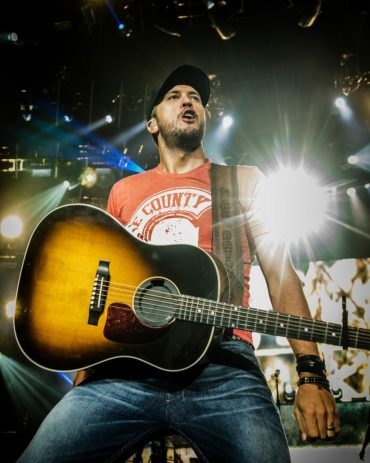 Luke Bryan at Saratoga Performing Arts Center — Photo by Jim Gilbert