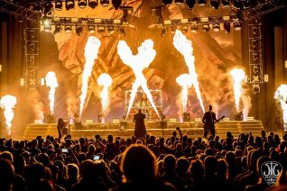 Disturbed at Saratoga Performing Arts Center — Photo by Jim Gilbert