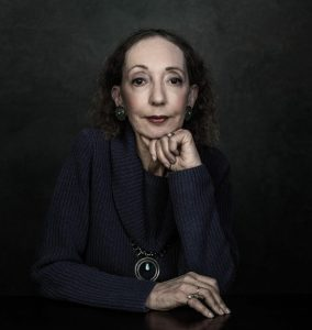Joyce Carol Oates appears Thursday, Sept. 15. Photo by Dustin Cohen