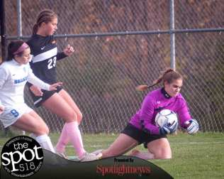 The Bethlehem girls soccer team gets by Shaker in three OT periods