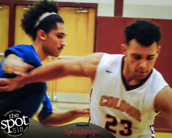 SPOTTED:Colonie vs. Albany boys basketball Thursday, Dec. 8, 2016. Photo by Rob Jonas/Spotlight