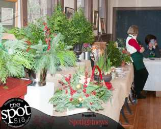 The Holiday Open House at the Pruyn House.