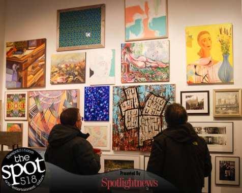 SPOTTED: Albany Center Gallery grand opening January 18, 2017. Photo by Ali Hibbs/Spotlight