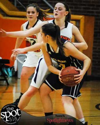 SPOTTED: Bethlehem vs. Averill Park in a Suburban Council girls basketball game Friday, January 6. Photo by Rob Jonas/Spotlight