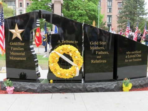 The Gold Star Family Wall