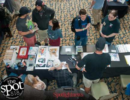 SPOTTED — Albany Comic Con on Sunday, June 4. (Photo by Michael Hallisey / TheSpot518)