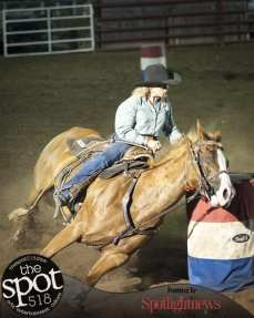 Spotted: Double M Professional Rodeo July 7 in Ballston Spa, NY.